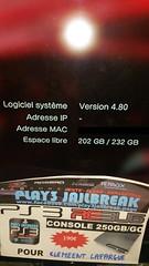 20160812_060401 (play3jailbreak) Tags: play3 jailbreak achat acheter commander ps3 slim 250gb dex rebug 475 manette clmeent lafargue envoi france mondial relay