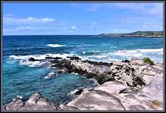 Rocky Outcrop (WanaM3) Tags: wanam3 nikon d750 nikond750 hawaii maui kapalua oneleobay ocean pacificocean waves shoreline seascape vista bluewater