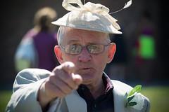 Hey, you! (JDWCurtis) Tags: grandfather grandad wedding point pointing louisandkatyswedding family moment you