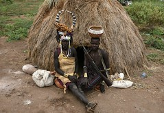 Mursi women (7) (Prof. Mortel) Tags: ethiopia omovalley mursi