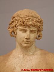 Delphi Archaeological Museum - Antinous (soyouz) Tags: delfi delphi grc grce delphes grec phocis sculpture statue delphiarchaeologicalmuseum grcela