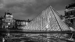 The Louvre Pyramid || Paris (anoopbrar) Tags: thelouvre louvre paris france eiffel pyramid architecture building history iconic panorama twlight night sunset sunrise monalisa outdoor tower eiffeltower tourdeeiffel landcape icon monument pari trocadero art artistic bluehour urban city clouds longexposure picturesque twilight explore landscapephotography long exposure dusk citylights travel travelphotography leadinglines