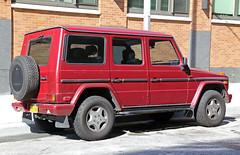 1995 Mercedes-Benz G320 (vetaturfumare - thanks for 2 MILLION views!!!) Tags: mercedes mercedesbenz gklasse gelndewagen gwagen g320 1995 wallace labs red tribeca grey gray import bricks