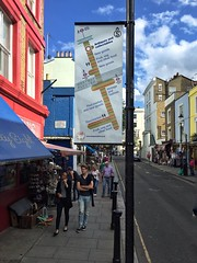 Antiques & Collectables with Alice's & Chloe Alberry (RBKC Markets) Tags: portobelloroad portobellomarket portobello market marketsigns signs wayfinding wayfinders nottinghill portobelloroadmarket sign marketsign wayfinder diagram
