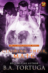 Claiming Their Mate (CoverReveals) Tags: paranormal romance shifters mmm gay glbt pnr mnage werewolves writer