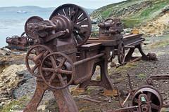 Day 14 590 (brads-photography) Tags: abandoned cogs cogwheel corrosion decay falklandislands falklands machinery newisland newislandwhalingcompany oldwhalingstation rust lathe
