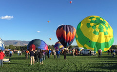 Up in the sky (US Department of State) Tags: ballooning hotairballoons holiday laborday colorado bluesky summer sports color