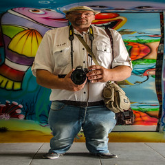 Monster (ericbeaume) Tags: nikon d5100 18300mm sigma square person people funny mirror camera portrait ericbeaume