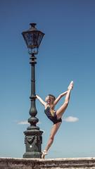 (dimitryroulland) Tags: nikon d600 85mm 18 dimitry roulland flexible people flexibility performer art dance dancer montpellier urban street city sky cloud natural light split