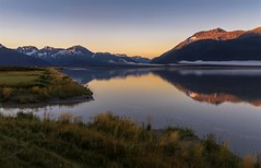 Tranquil Alaskan Morning (Cole Chase Photography) Tags: alaska kenaipeninsula turnagainarm sunrise dawn reflection mountains canon eos5dmarkiii