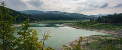 Lago di Trebecco (Zano91) Tags: clouds sky grass panorama contrast rain nikon d7100 trees tree foreground background outdoor sigma art mountain mountains mount penice colorful vibrant cloud meteo landscape mood moody weather foothill hill mountainside 1835mm panoramic pano lake water