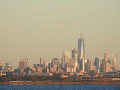 Lower Manhattan Skyline, September 25, 2016 (NYMAN2010) Tags: oneworldtradecenter lowermanhattan morning skyline skyscraper skyscrapers threeworldtradecenter queens rockaway jamaicabay fall freedomtower fourworldtradecenter newyorkcity newyork nyc 2016