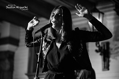 Molly Moore 09/15/2016 #2 (jus10h) Tags: mollymoore novacancy vancancy hollywood losangeles la california live music concert gig show release album cd party event performance black white photography nikon d610 2016 justinhiguchi photographer birthday