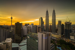 Beatific Sunset: Kuala Lumpur City Centre (Mohamad Zaidi Photography) Tags: kualalumpur kualalumpurcitycenter sunset beatific twintower thetwintower mohamadzaidiphotography mohamadzaididotcom malaysianphotographer klcc klccpark suriaklcc tradershotel kltower maxis klccconventioncentre nisifilters nisind1000 100mmseries raymastersfilter raymasterssoftgnd8 raymasters nisimalaysia raymastersmalaysia longexposure singleraw landscape nopeople cityscape sonymalaysia sonyjapan sonya7r sony1635f4