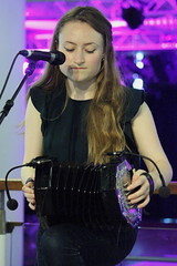 Askew Sisters (2016) 03 - Hazel Askew (KM's Live Music shots) Tags: folkmusic greatbritain englishfolk askewsisters hazelaskew maccannsystem duetconcertina concertina fridaylunch southbankcentre