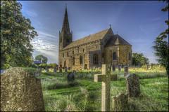 Brixworth Church (Darwinsgift) Tags: brixworth church all saints saxon old oldest northamptonshire england hrd photomatix nikon d810