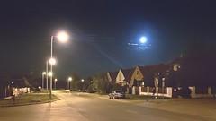 Veszprem Night (kovacskrisztianhu) Tags: veszprm hungary iphoneshoot night moon street