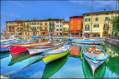 Lazise (photograph-painter) Tags: lazise gardasee paint flickr landschaft sommer summer colors