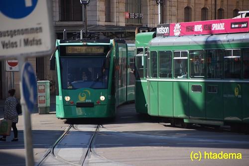 Trams BVB Basel