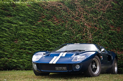 Ford GT40 [Explored] (BenjiAuto (Ratet B. Photographie)) Tags: show road blue france cars ford sport america us nikon muscle stripes sunday meeting gear replica cc exotic american 40 autos gt lm luxury supercar supercars gt40 18105 55200 d90 rassemblement ratet worldcars hypercars