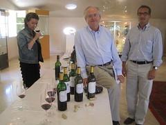 Chateau Pichon Lalande tasting with Gildas, Thomas