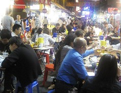 The Night Market in Jowloon