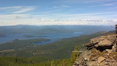 View of Priest Lake from Inspiration Point Photo