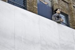 francesca & arata [barcelona revisited] (22fiaschi) Tags: barcelona espaa architecture 50mm 22 spain arquitectura pentax bricks sigma architektur catalunya marble architettura barcellona catalua spagna architectuur catalogna restauro marmo caixaforum mattoni catalano fiaschi k10d penataxk10d pentaxiani 22fiaschi