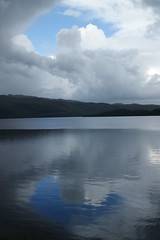 Loch Lomond (Ed Thuell) Tags: mountains reflection water clouds landscape scotland scenery loch lomond trosachs
