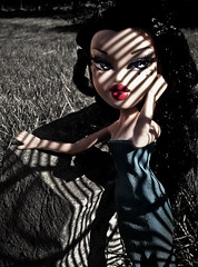 "Week 17 - ""Stuck in the Shadows"" option 1 - Silvia (Pinky Bratz) Tags: pink blue light shadow sun sunlight hot color beautiful beauty make up grass lines fashion rock america outside photography photo high model doll pretty shoot dolls shadows dress photoshoot modeling top gorgeous models makeup pinky lips next vogue stunning americas brats bratz dollz modelz bntm dntm bntsm"