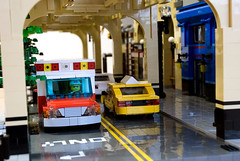 The ambulance (Dark-Alamez) Tags: road rescue usa chicago tree car train lego taxi obey el ambulance busstop elevated eltrain medic hotelmonaco steakhouse elevatedtrain trainbus trainelevated legousachicagotraincarambulancetaxiobeytreeroadhotel monacoel stoplegousachicagotraincarambulancetaxiobeytreeroadhotel stopmortons