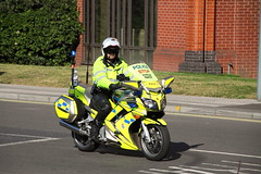 Yamaha motorbike of Suffolk Police (Ian Press Photography) Tags: bike race cycling cyclists suffolk pc cyclist tour britain police bikes racing motorbike cycle biking yamaha pro service biker motor emergency services ipswich bikers tourofbritain cycles 999 motorbiker