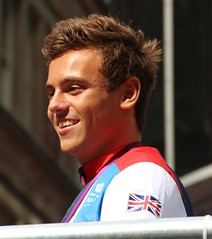 Tom Daley at the London 2012 Parade for Olympians and Paralympians (ec1jack) Tags: uk england london sport britain parade september celebration gb 10th olympic athletes olympics fleetstreet 2012 paralympics london2012 sportsmen paralympic teamgb kierankelly sportswomen tomdaley ec1jack canoneos600d