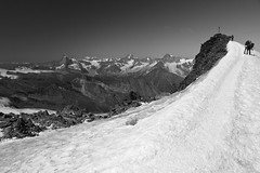 At the Summit (StefanJacobsPhoto) Tags: landscape switzerland sony za 54 saasfee a700 allalinhorn 51680 variosonnartdt3
