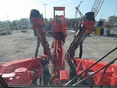 Sandvik DT820 Jumbo (rocbolt) Tags: tunnel mining drill jumbo drilling tunneling sandvik dt820 twoboomjumbo