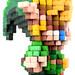 Pixel Art 3D Fimo 17