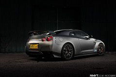 Nissan GTR R35 Stealthzilla aka Godzilla (NWVT.co.uk) Tags: auto light urban photography grey nikon long exposure nissan williams painted nick gritty carbon satin derelict matte evo journals gtr fibre d300 r35 nwvt