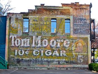 Tom Moore Cigar Ghost Sign, Hot Springs, AR