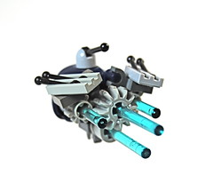 Space Marine Battlecruiser (Ryclen) Tags: marine lego space battle galaxy spaceship cruiser patrol miniscale