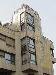 Immeuble rue du Renard/rue du clotre Saint-Merri, Paris IVe (Yvette Gauthier) Tags: architecture immeuble mosaque paris4