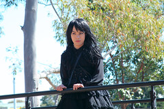 Gothic lolita out door 003 (Mr.NM.Zero) Tags: boy black cute doll dress vampire cd gothic lolita egl mana crossdress  ero crossplay dolllike australiantechnologypark    brolita mrnightmare         animinia