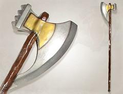 if402809 meatgrinder staff (penningp) Tags: foam latex gn larp mousse arme polearm quarterstaff wwwlatexweaponsca