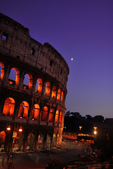 (Honey Bfly) Tags: rome roma night noche coliseo colisseum colosseo nikond60