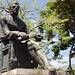 Statua nella piazza principale di Santa fe de Antioquia