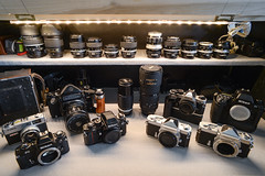 My Cabinet (Tony DeFilippo) Tags: nikon photogear
