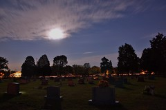Cemetery by the light of the Harvest Moon - 2 (Stephen Little) Tags: fullmoon harvestmoon tamron1750mm tamronaf1750mmf28 tamron1750mmf28 tamronaf1750mm 100offull sonya77 jstephenlittlejr huntersmoon slta77 sonyslta77 sonyslta77v sonyalphaslta77v moon100offull