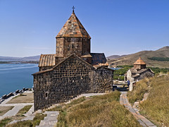 Sevanavank 16 (Grete Howard) Tags: church religion monastery armenia christianity cathdral sevan lakesevan sevanavank
