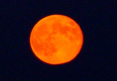 Is the September Full Moon confused or what? (fyrrylikka) Tags: moon harvest september full 30th 2012 abigfave