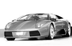 You got a fast car (FOCUS404) Tags: light bw hk reflection car canon eos 85mm nb 7d highkey reflets luxe fastcar surexposition focus404