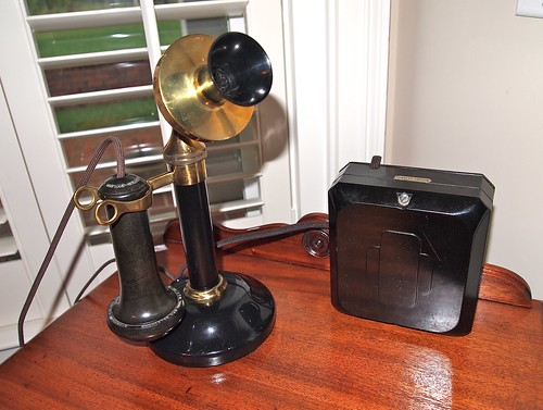 Stromberg Carlson candlestick phone circa 1905